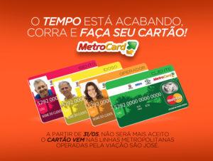 Faça seu Cartão Metrocard